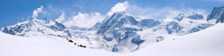 瑞士阿尔卑斯山脉景观