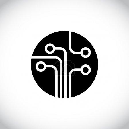 电路板技术图标